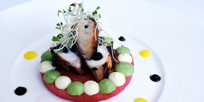 Roasted Octopus from Sinfonia Ristorante in Boat Quay, Singapore