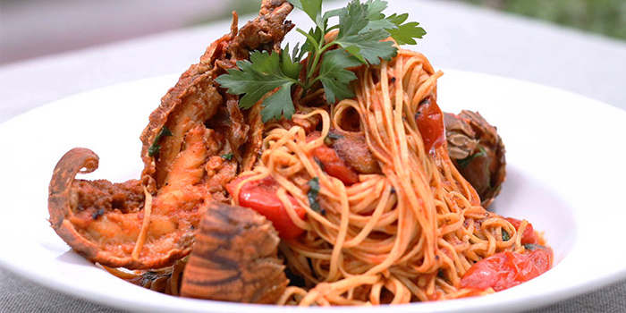 Tagliolini Aragosta from Bella Pasta in Robertson Quay, Singapore