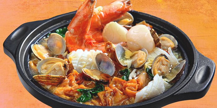Deluxe Seafood Horfun from Dining Place at Mandarin Gallery in Orchard, Singapore