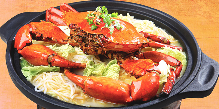 Crab Beehoon from Dining Place at Mandarin Gallery in Orchard, Singapore