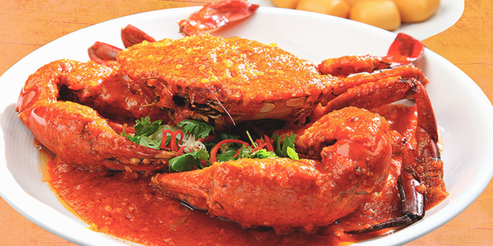 Singapore Chili Crab from Dining Place at Mandarin Gallery in Orchard, Singapore
