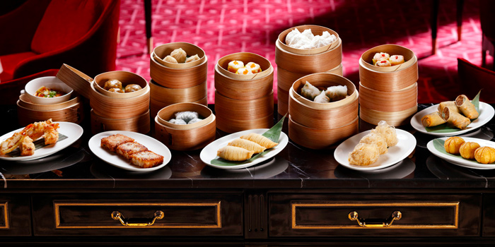 Assorted Dim Sum from Madame Fan at JW Marriott Singapore South Beach in Bugis, Singapore