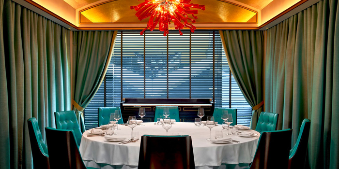 Dining Room of Madame Fan at JW Marriott Singapore South Beach in Bugis, Singapore