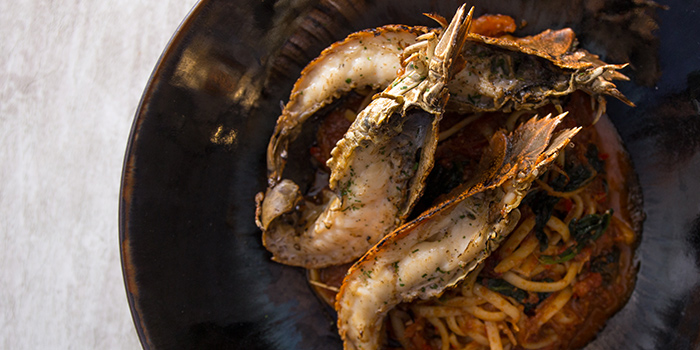 Lobster Linguine from NUDE Seafood in Marina Bay Financial Centre in Raffles Place, Singapore