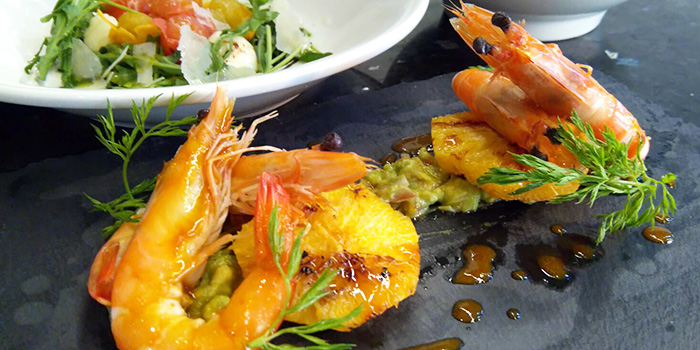 Chilled Prawns from YOUNGS Bar & Restaurant in Seletar, Singapore