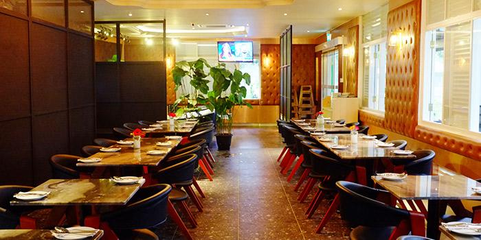 Interior of YOUNGS Bar & Restaurant in Seletar, Singapore