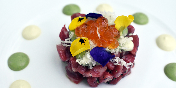 Wagyu Beef Tartare from Sinfonia Ristorante in Boat Quay, Singapore