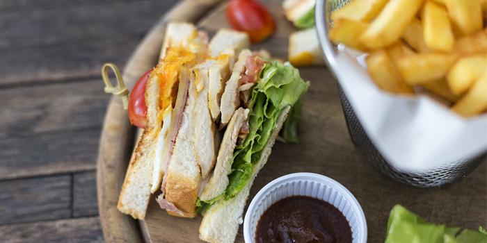 Chicken Sandwich from Flip Side in Rawai, Phuket, Thailand