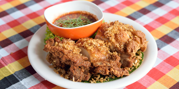 Fried Chicken from Somtum Der at Soi Sukhumvit 55 Khlongton Nua, Watthana Bangkok