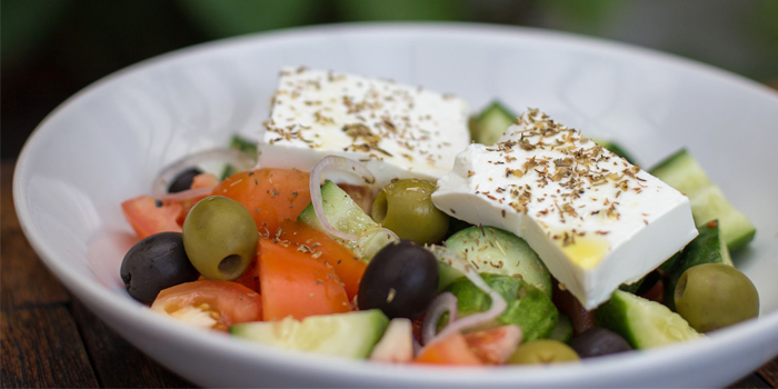 Greek Salad from Flip Side in Rawai, Phuket, Thailand