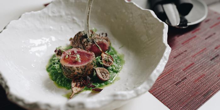 Grilled Lamb from Niche at Siam Kempinski Hotel, Bangkok