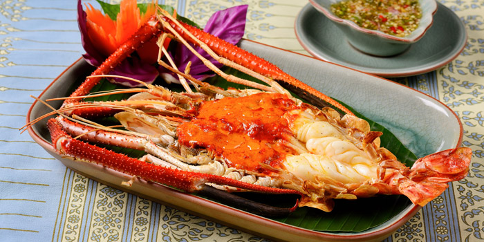 Grilled River Prawn from Baan Khanitha at Sukhumvit 53 Alley Khlong Tan Nuea, Wattana Bangkok