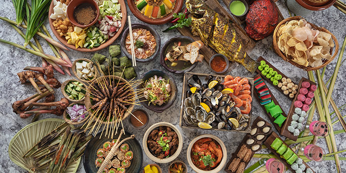 Buffet Spread from Hilton Singapore Ramadhan Pop-Up Restaurant along Orchard Road, Singapore