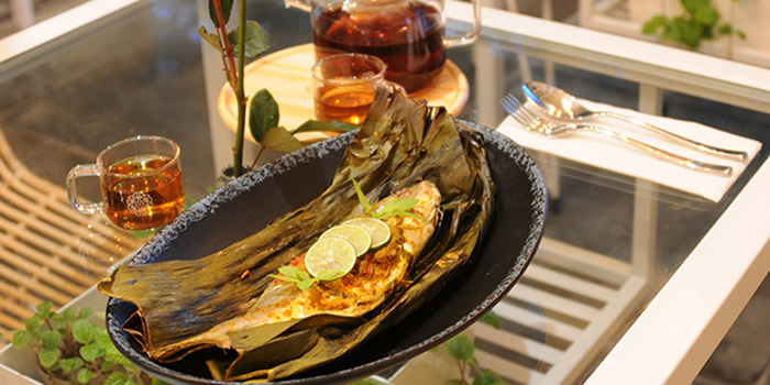 Dish 1 at Kame, Canggu