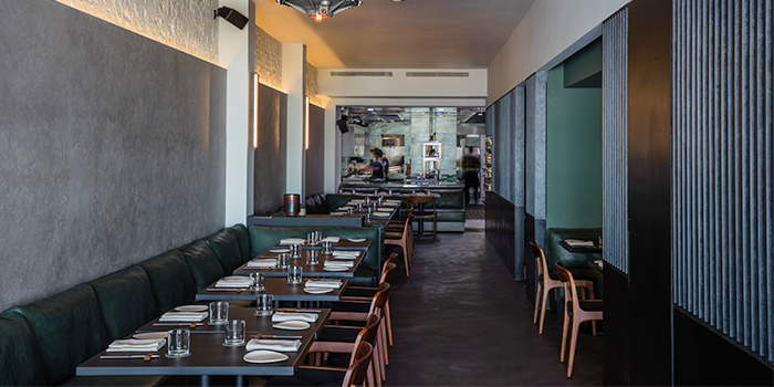 Interior of Blackwattle on Amoy Street in Telok Ayer, Singapore