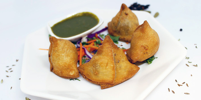 Samosa from Bread Babu in Little India, Singapore