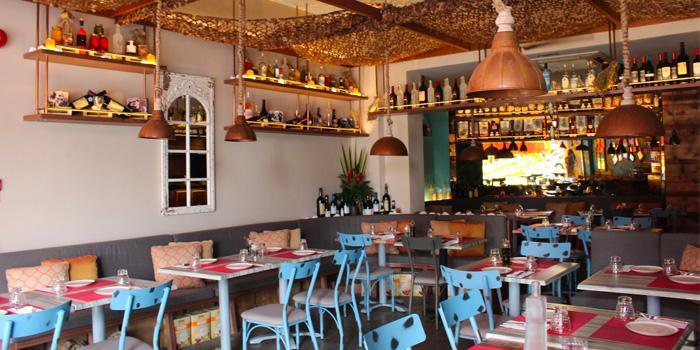 Interior of Fotia in Club Street, Singapore
