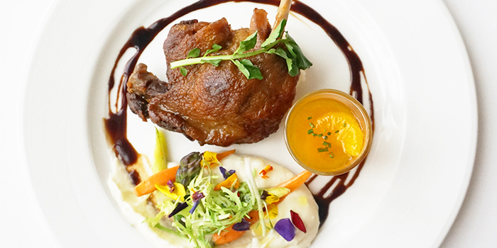 Duck Leg Confit (1-31 May) from Lawry