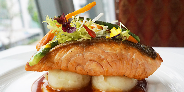Grilled Salmon Fillet (1-31 May) from Lawry