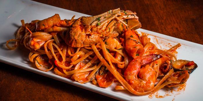 Spaghetti al Gambero from Pietro Ristorante Italiano at Seletar Hills in Seletar, Singapore