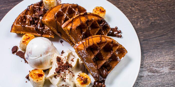 Banana Nutella Waffle from Savoury in Yio Chu Kang, Singapore