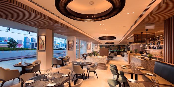 Interior of The Garden Grille at Hilton Garden Inn Singapore Serangoon in Little India, Singapore