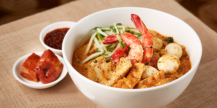 Laksa from Town at The Fullerton Hotel Singapore in Raffles Place, Singapore