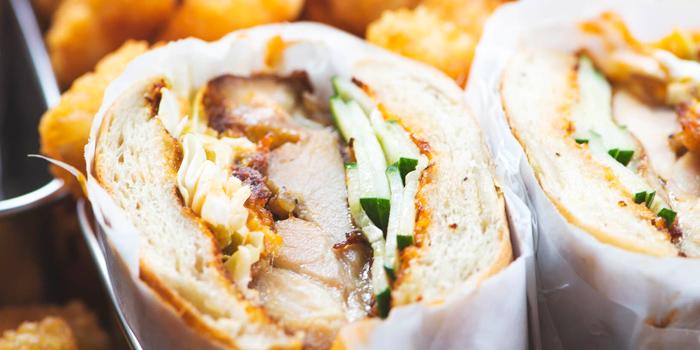 Crispy Fried Chicken Sandwich from Park Bench Deli in Telok Ayer, Singapore