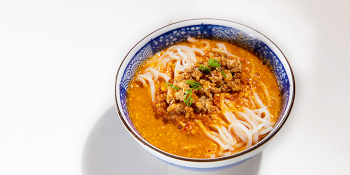 Signature Sichuan Noodles in Sichuan Chili Sauce, Dragon Gate Beijing Private Kitchen, Causeway Bay, Hong Kong