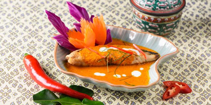 Snow Fish with Curry from Baan Khanitha at Sukhumvit 53 Alley Khlong Tan Nuea, Wattana Bangkok