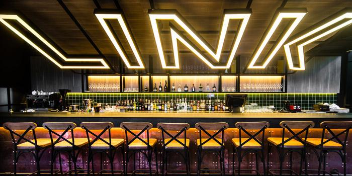 The Bar of Link Cuisine & Bar at Yen Akat Road, Chong Nonsi, Yan Nawa, Bangkok