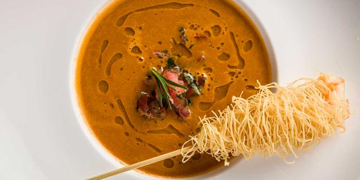 Shrimps & Tuscan Bean Soup, Al Molo, Tsim Sha Tsui, Hong Kong