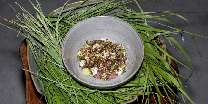 Dish 1 at Savage Kitchen, Bali
