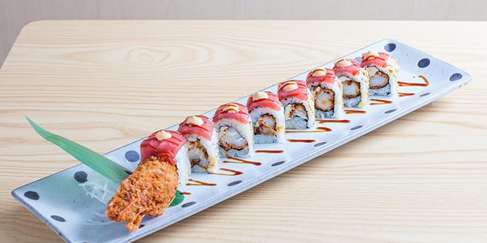 Red Dragon Roll, Kokon Premium, Causeway Bay, Hong Kong