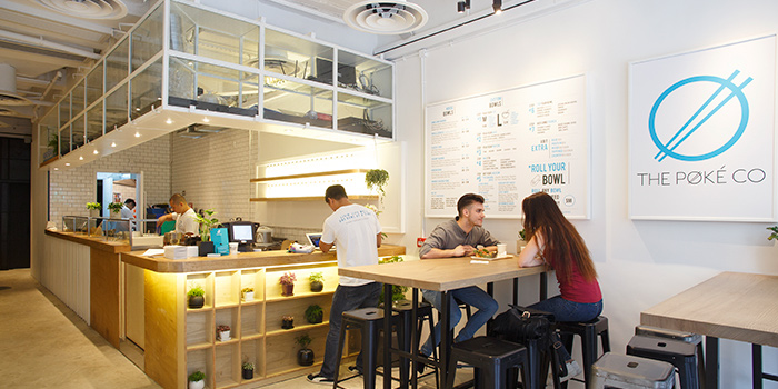 Interior, The Poke Co., Tsim Sha Tsui, Hong Kong