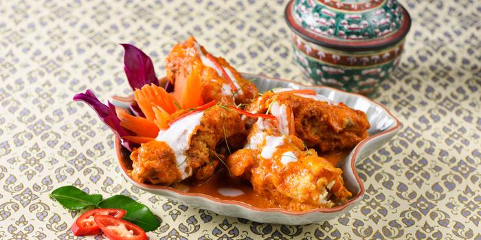 Soft Shell Crab with Curry from Baan Khanitha at Sukhumvit 53 Alley Khlong Tan Nuea, Wattana Bangkok