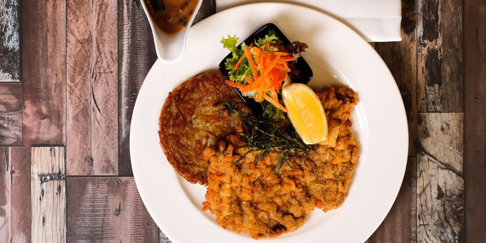 Dish 1 at The Tavern, Aryaduta