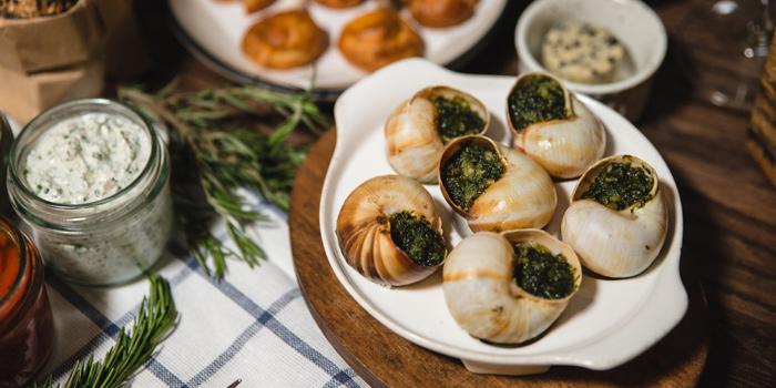 Burgundy Snails from The Bar Upstairs at 3rd Floor Brasserie Cordonnier 32 Soi Sukhumvit 11,Khlong Toei Nuea Bangkok