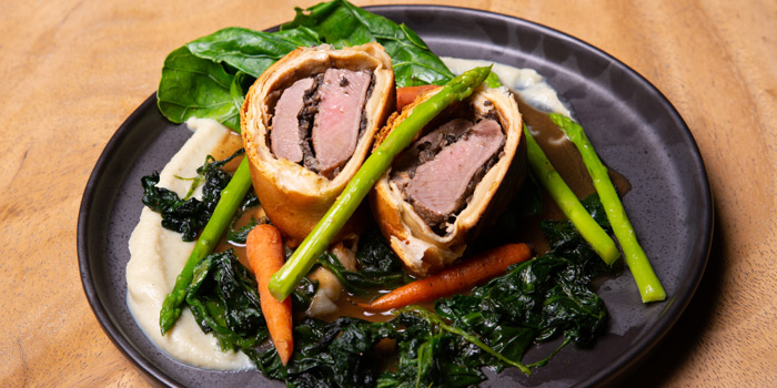 Beef Wellington from Link Cuisine & Bar at Yen Akat Road, Chong Nonsi, Yan Nawa, Bangkok