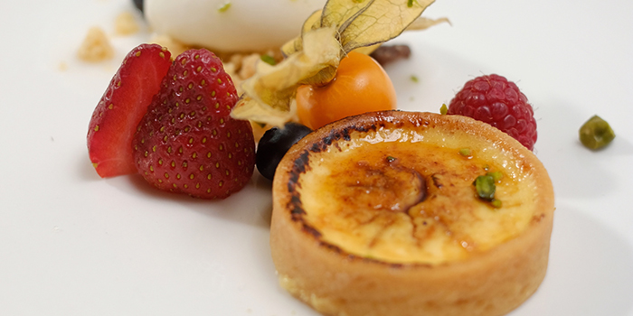 Crema Catalana from Winestone at Mercure Singapore on Stevens in Tanglin, Singapore