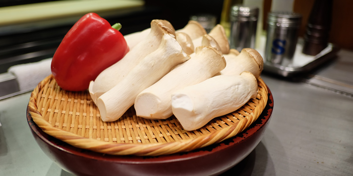 Fresh Mushroom from Serina Japanese Teppanyaki at 9/26 Soi Jim Thompson Surawong, Bangrak Bangkok