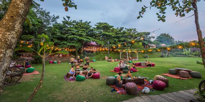Grass Area at La Laguna, Bali