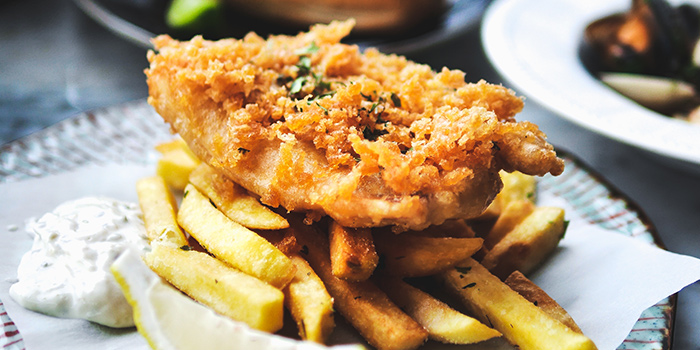 Fish & Chips from Angie