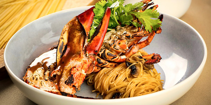 Grilled Lobster in Lobster Jus from Blue Lotus - Chinese Grill House @ Stevens in Orchard, Singapore