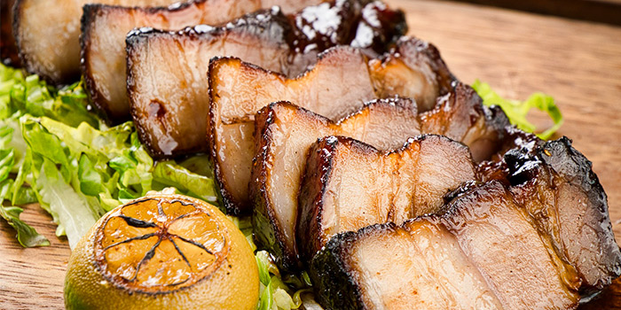 Hichory Smoked Kurobuta Pork Belly from Blue Lotus - Chinese Grill House @ Stevens in Orchard, Singapore