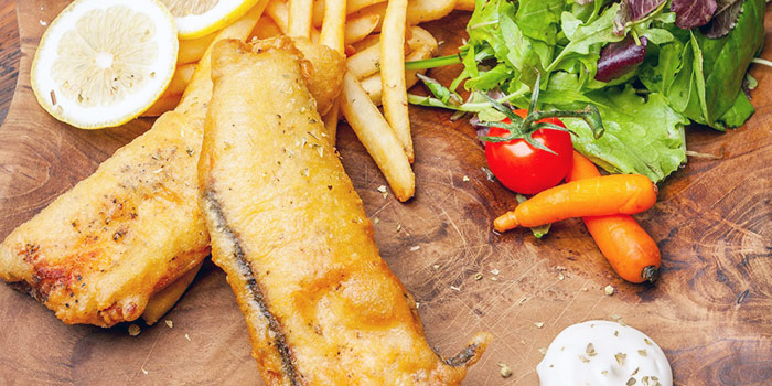 Fish & Chips from Double Durian in Jalan Besar, Singapore
