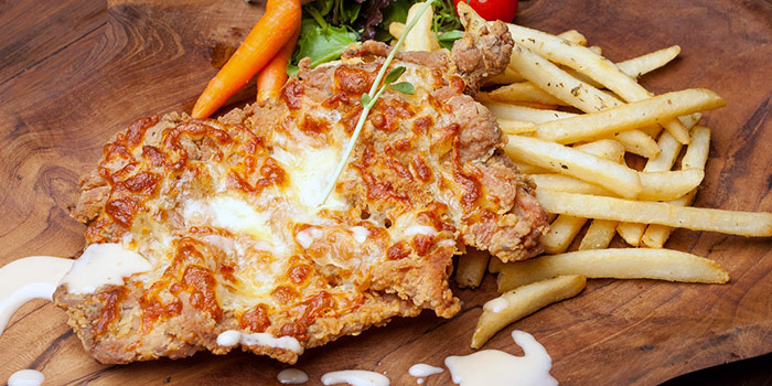 Mozzarella Chicken from Double Durian in Jalan Besar, Singapore