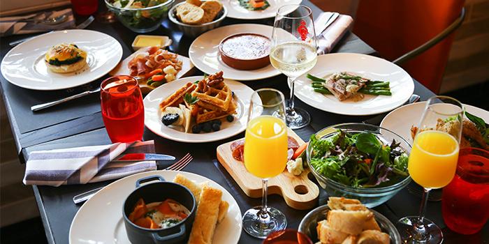 Sunday Till U're Full Brunch Spread from Ginett Restaurant & Wine Bar in Bugis, Singapore