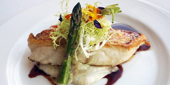 Grilled Red Snapper Fillet with Terriyaki Sauce (Jun) from Lawry