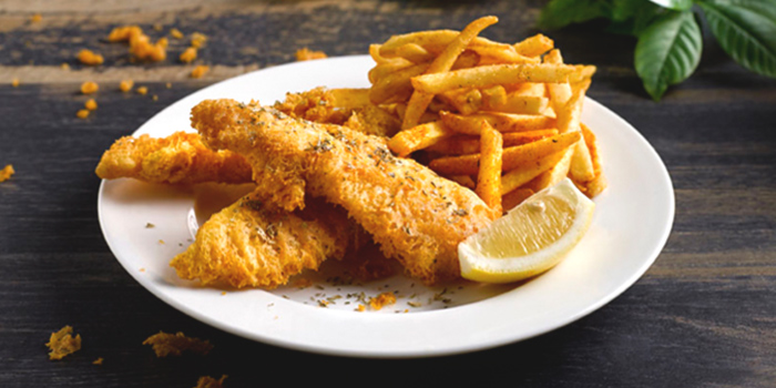 Fish & Chips from The Boiler (Esplanade) in Esplanade, Singapore